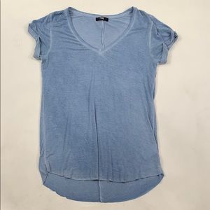 PAIGE Baby Blue Tee